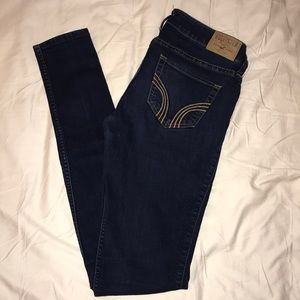 Hollister Super Skinny Dark Wash Jeans